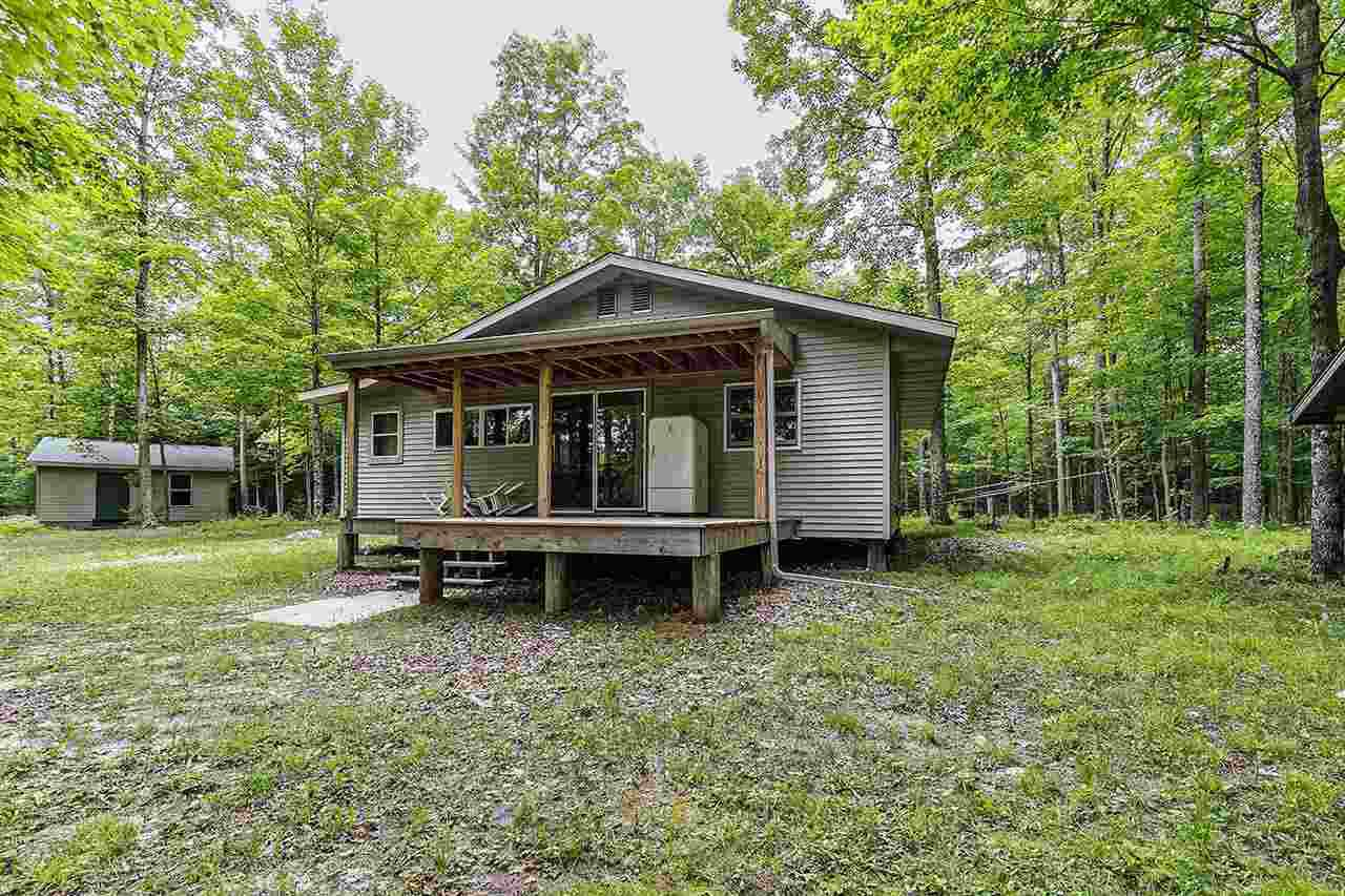 View Single-Family Home For Sale at N8527 OLD RAIL ROAD, Porterfield, WI