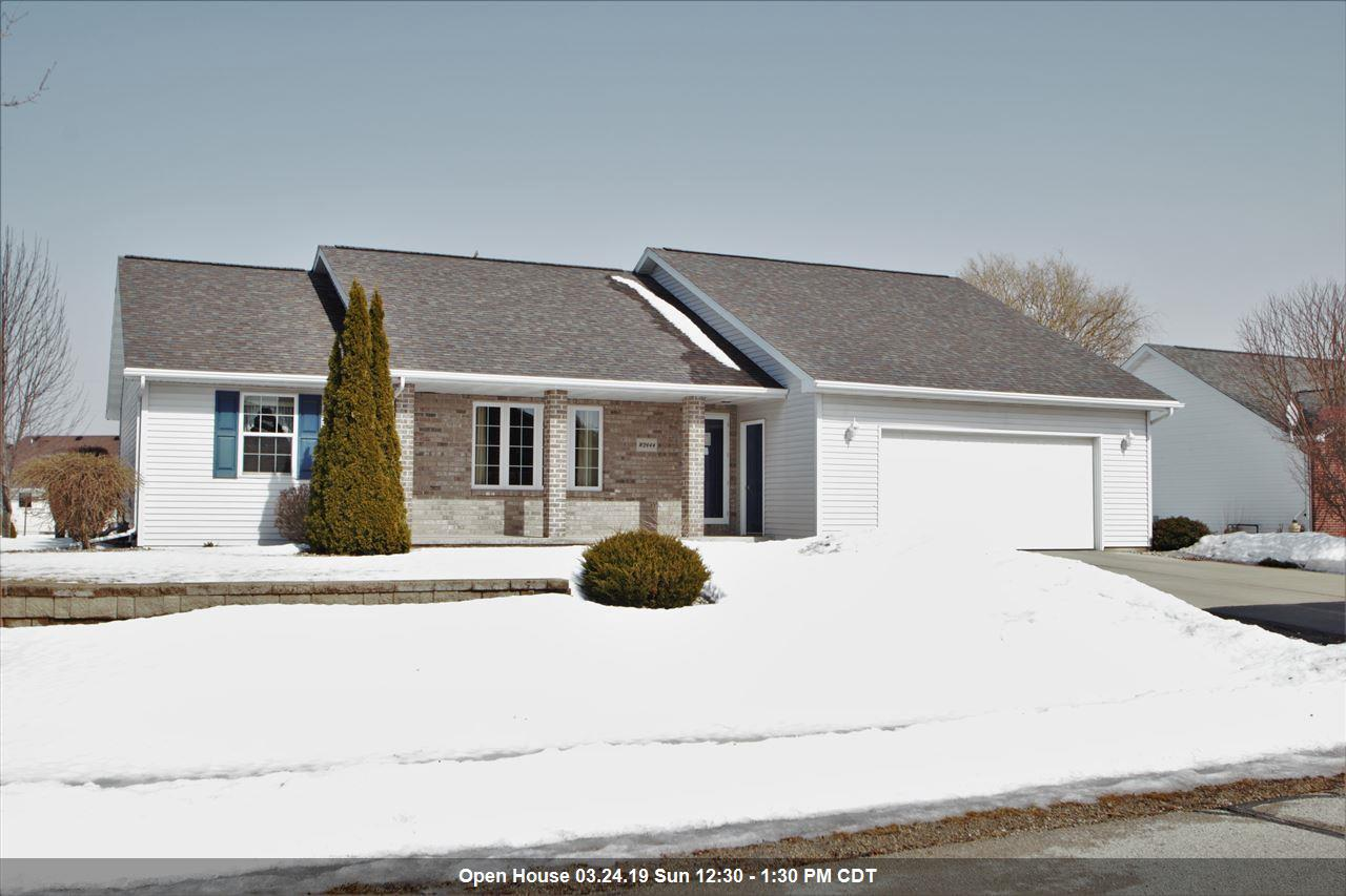 View Single-Family Home For Sale at W2444 SNOWBERRY DRIVE, Appleton, WI