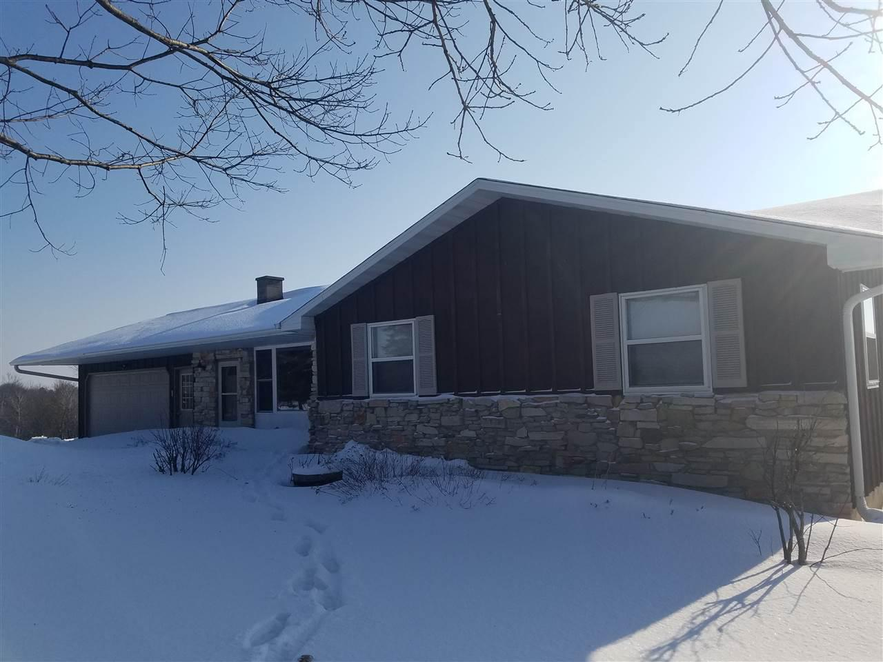 View Single-Family Home For Sale at 4695 BROWN COUNTY LINE ROAD, Pulaski, WI