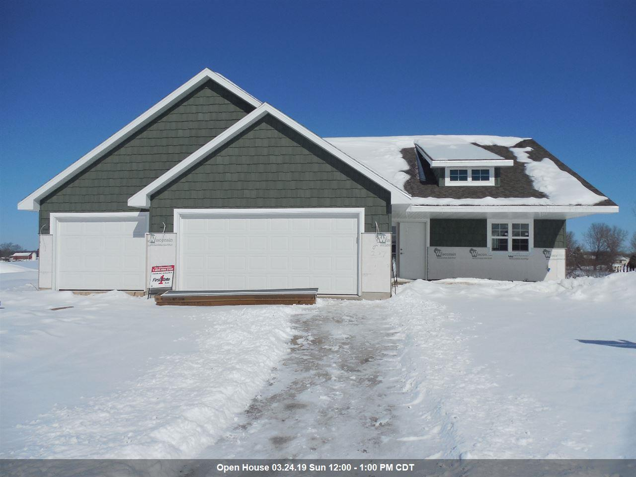 View Single-Family Home For Sale at 207 AUBREY COURT, New London, WI