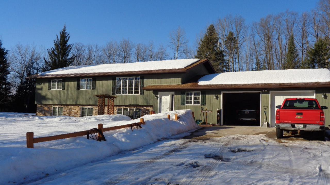 View Single-Family Home For Sale at W7267 Cemetery Rd, Pembine, WI
