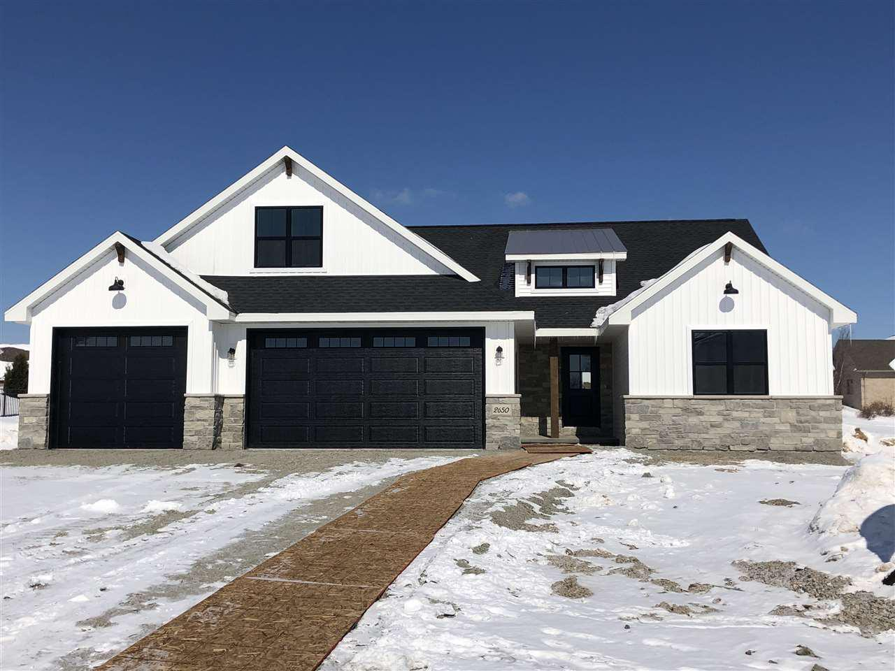 View Single-Family Home For Sale at 2650 MOOSE CREEK TRAIL, Green Bay, WI