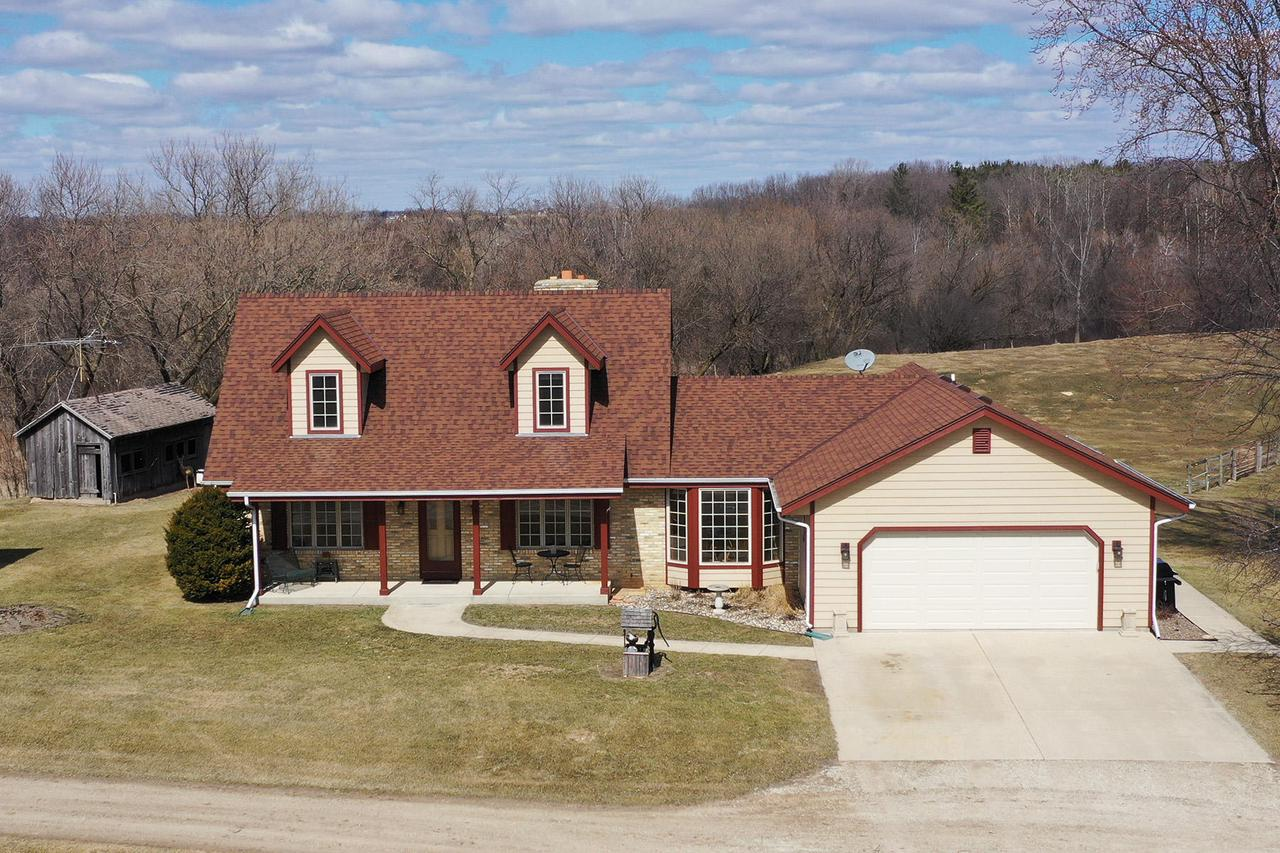 View Single-Family Home For Sale at W1210 State Road 106, Palmyra, WI