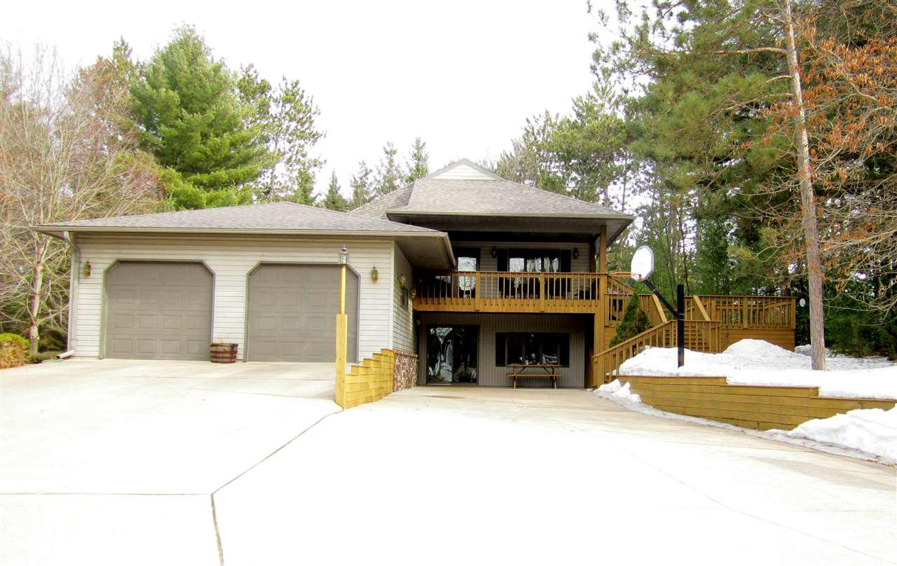 View Single-Family Home For Sale at N11688 KOELLER ROAD, Clintonville, WI