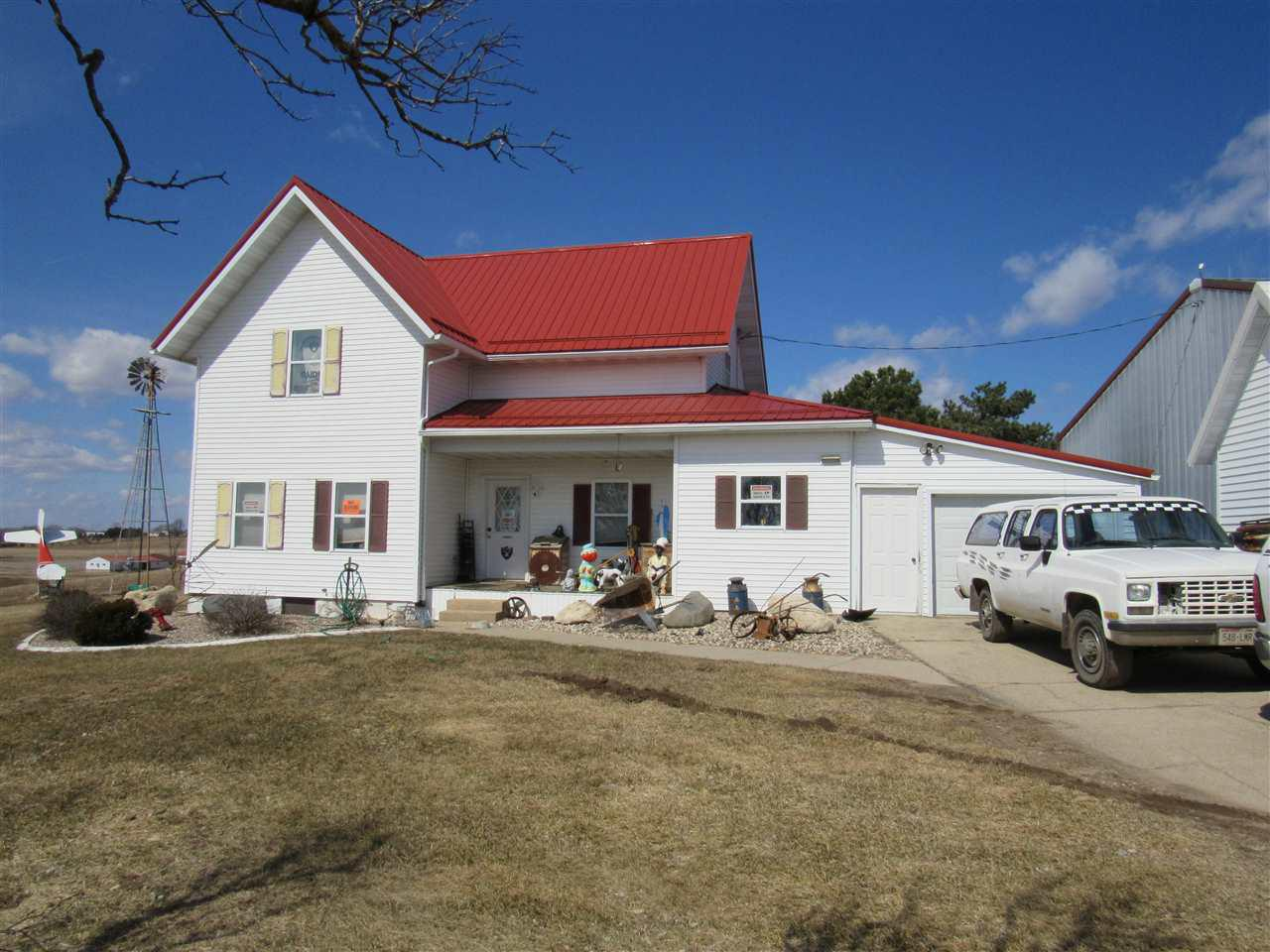 View Single-Family Home For Sale at N4420 REXFORD ROAD, Shiocton, WI