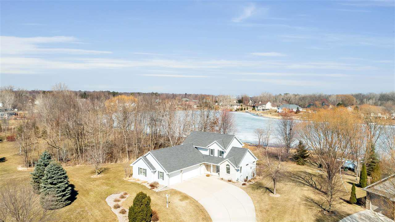 View Single-Family Home For Sale at 1126 WHISPER WIND COURT, Suamico, WI