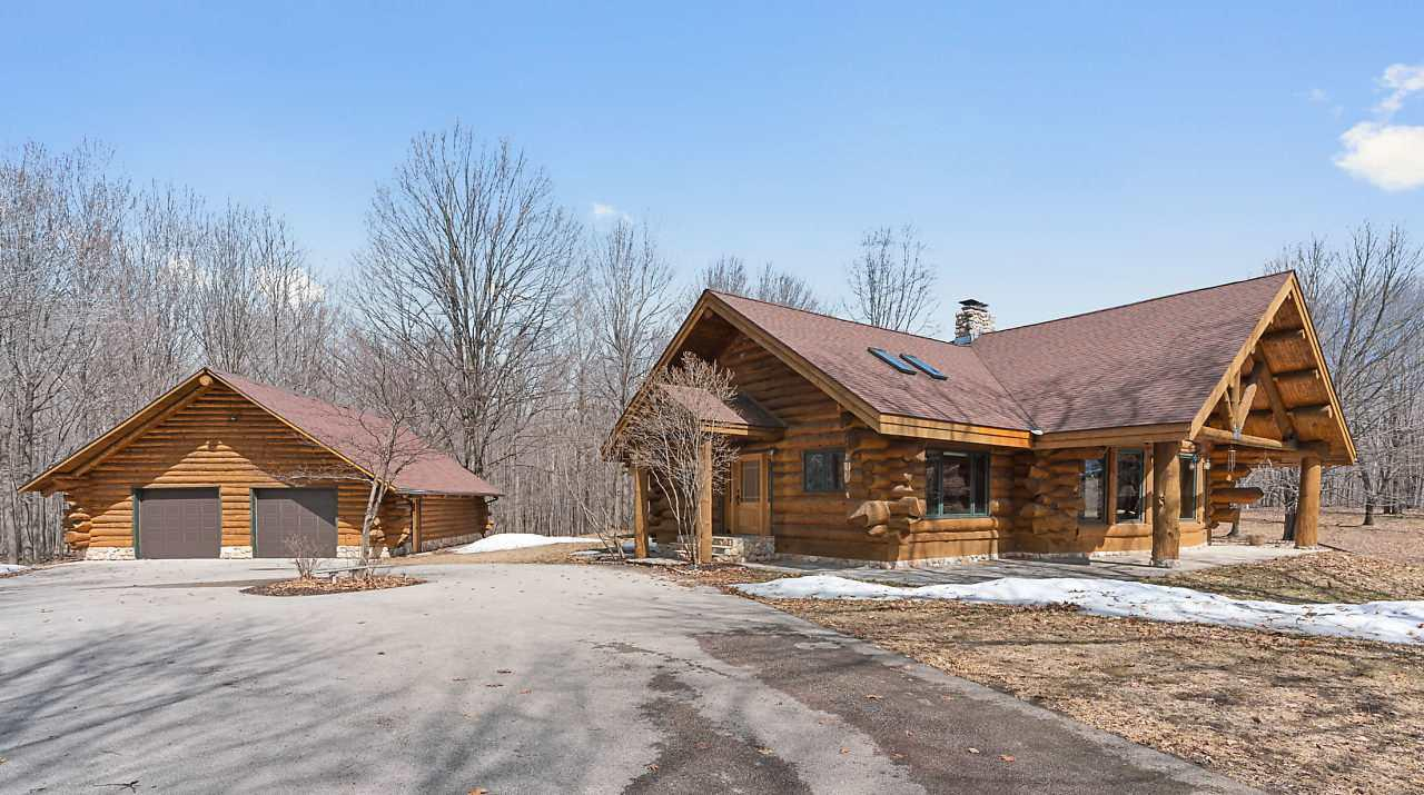View Single-Family Home For Sale at N5356 BAGLEY ROAD, Marinette, WI