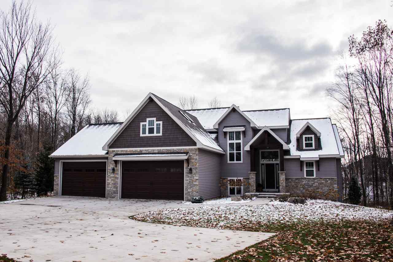 View Single-Family Home For Sale at 596 CORNROW LANE, Combined Locks, WI
