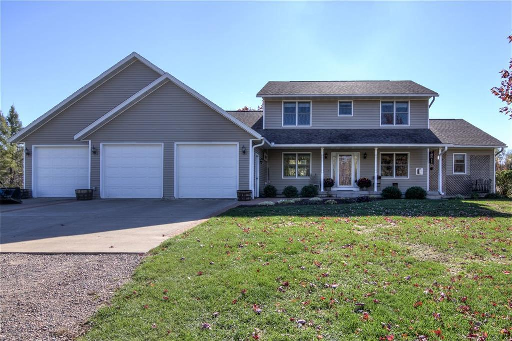 View Single-Family Home For Sale at W9857 County Line Road, Thorp, WI