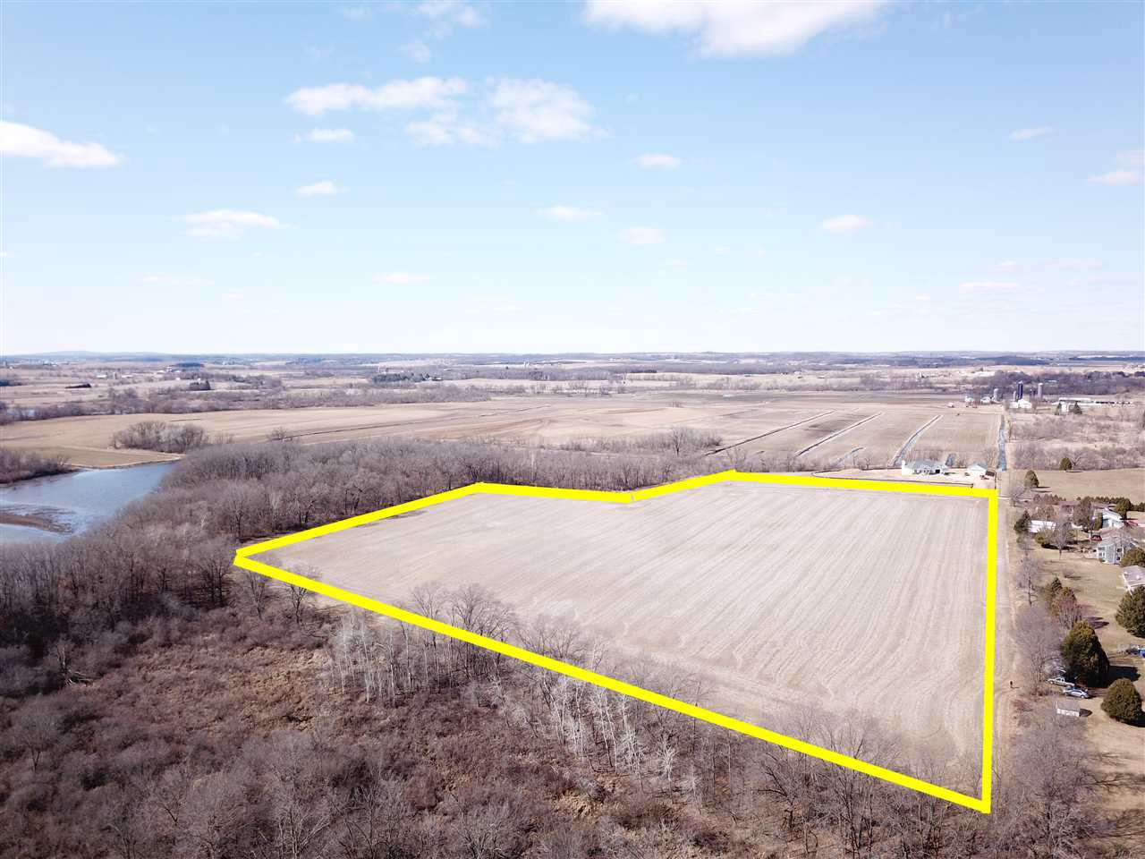 View Vacant Land For Sale at 17.74 Ac Bellrose St, Belleville, WI