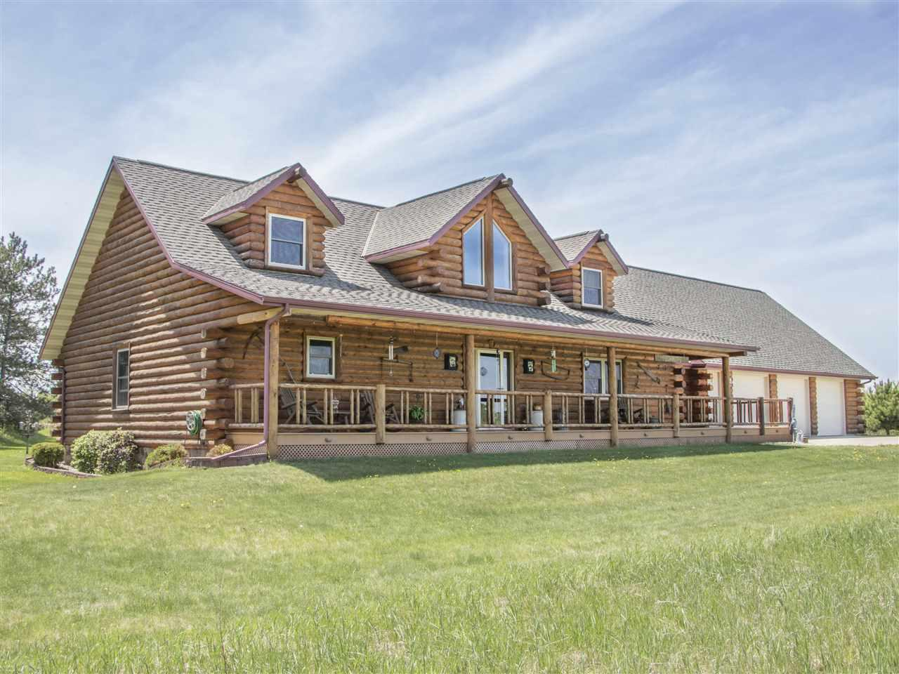 View Single-Family Home For Sale at W7185 DEERVIEW ROAD, Black Creek, WI