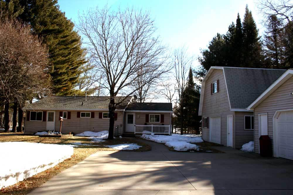 View Single-Family Home For Sale at 13840 RANCH LAKE DRIVE, Pound, WI
