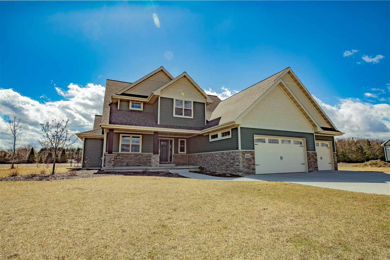 View Single-Family Home For Sale at 463 WOODFIELD PRAIRIE WAY, Oneida, WI