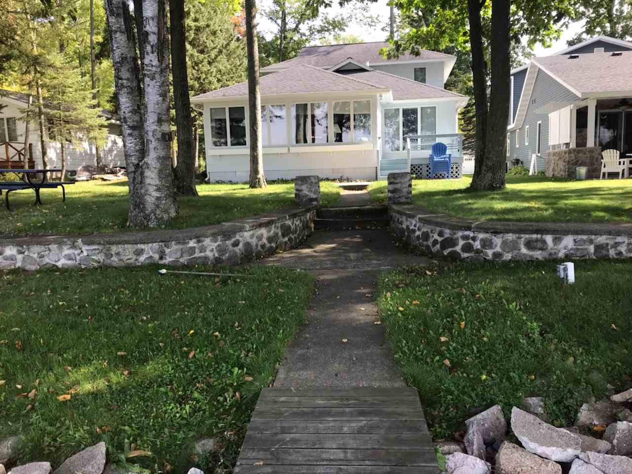 View Single-Family Home For Sale at N2559 RUSTIC DRIVE, Clintonville, WI