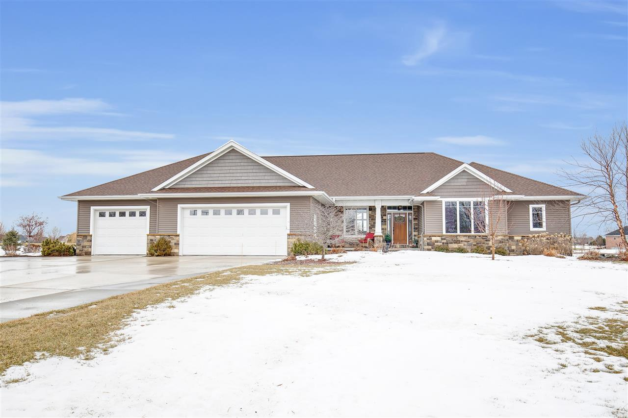 View Single-Family Home For Sale at 2856 GENTLE HILLS COURT, De Pere, WI