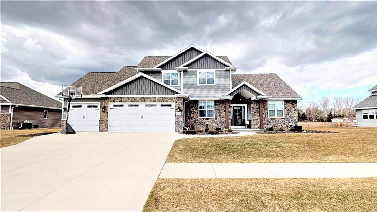 View Single-Family Home For Sale at 2268 GRINGOTTS WAY, De Pere, WI