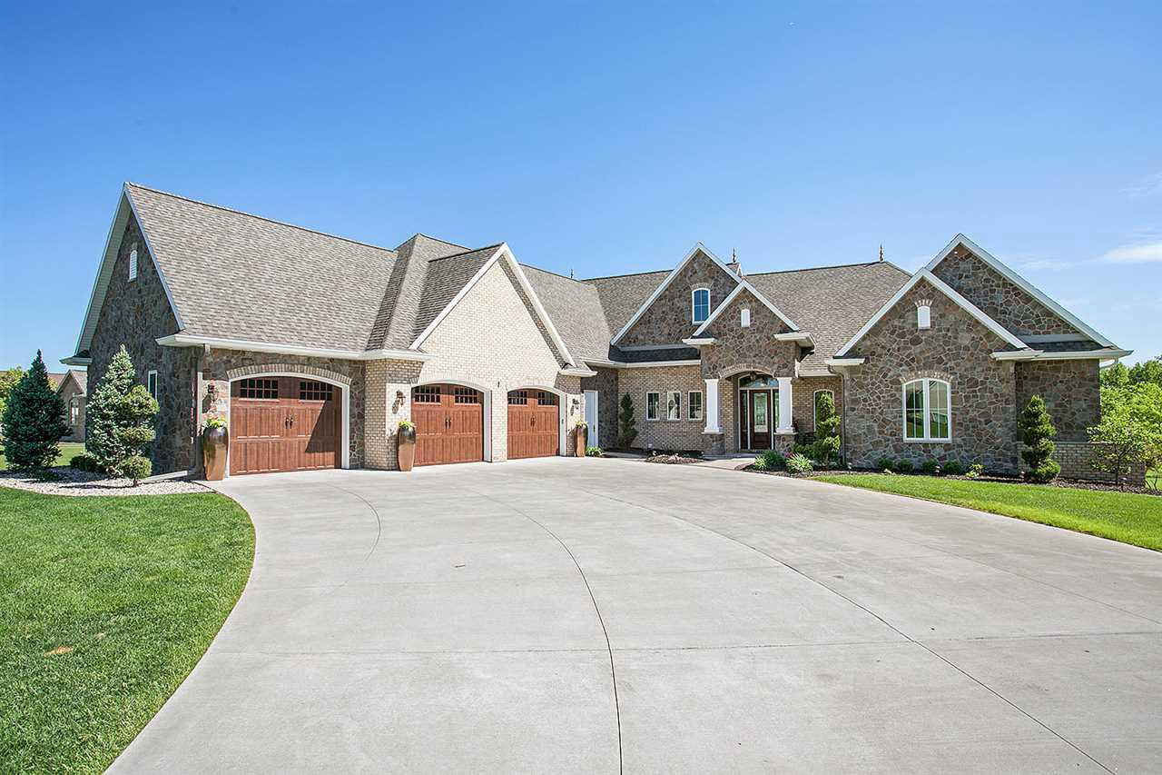 View Single-Family Home For Sale at 2397 WOODLAND HILLS DRIVE, Menasha, WI