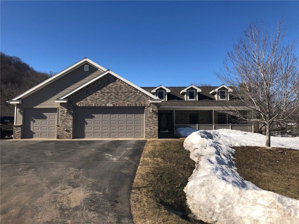 View Single-Family Home For Sale at 100 E Eau Galle Drive, Elmwood, WI