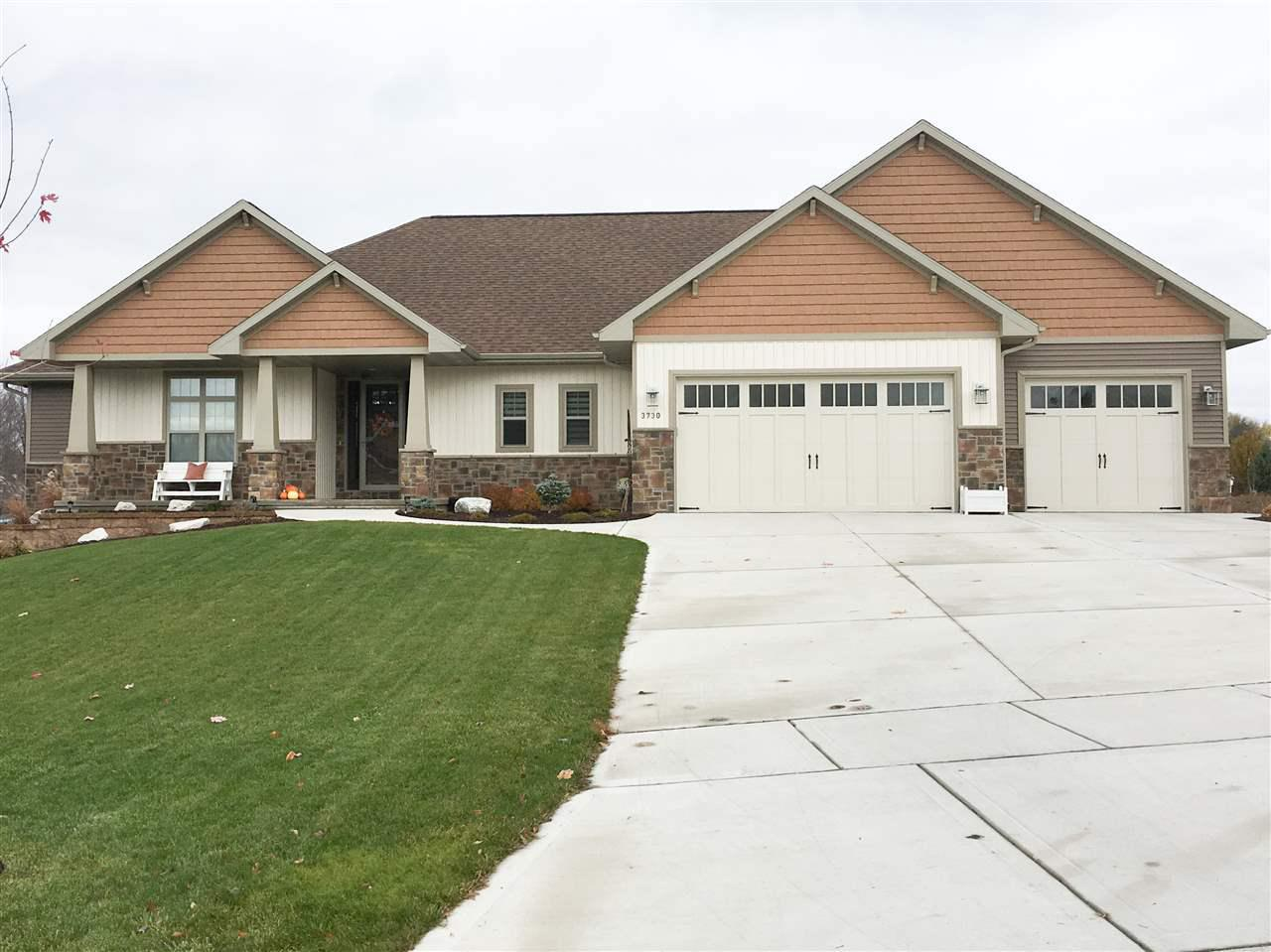 View Single-Family Home For Sale at 3730 COPPER OAK CIRCLE, Green Bay, WI