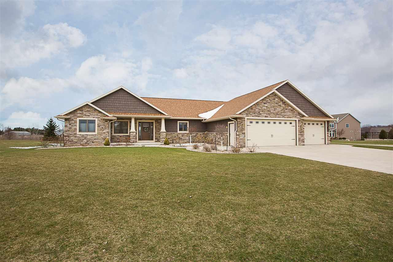 View Single-Family Home For Sale at W5034 RED BARN COURT, Appleton, WI