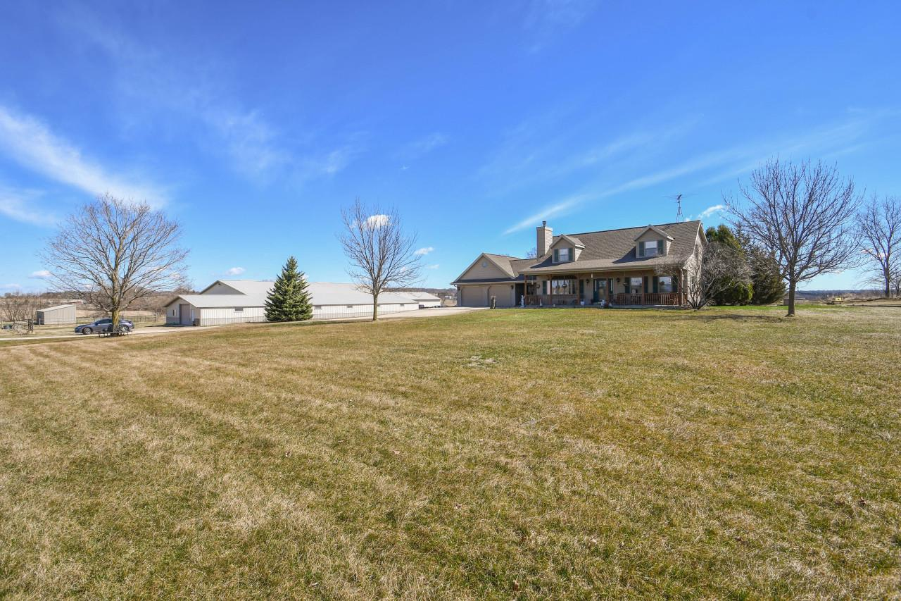 View Single-Family Home For Sale at N2512 State Road 106, Jefferson, WI