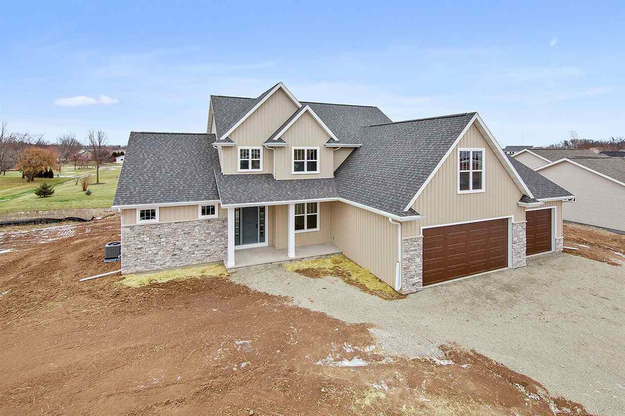View Single-Family Home For Sale at W5630 HOELZEL WAY, Appleton, WI