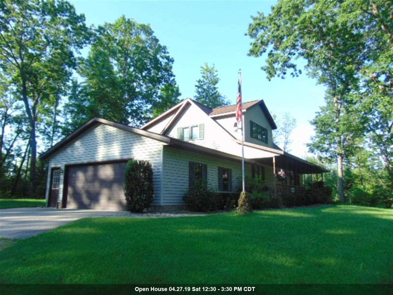 View Single-Family Home For Sale at N8758 PINES ROAD, Wausaukee, WI