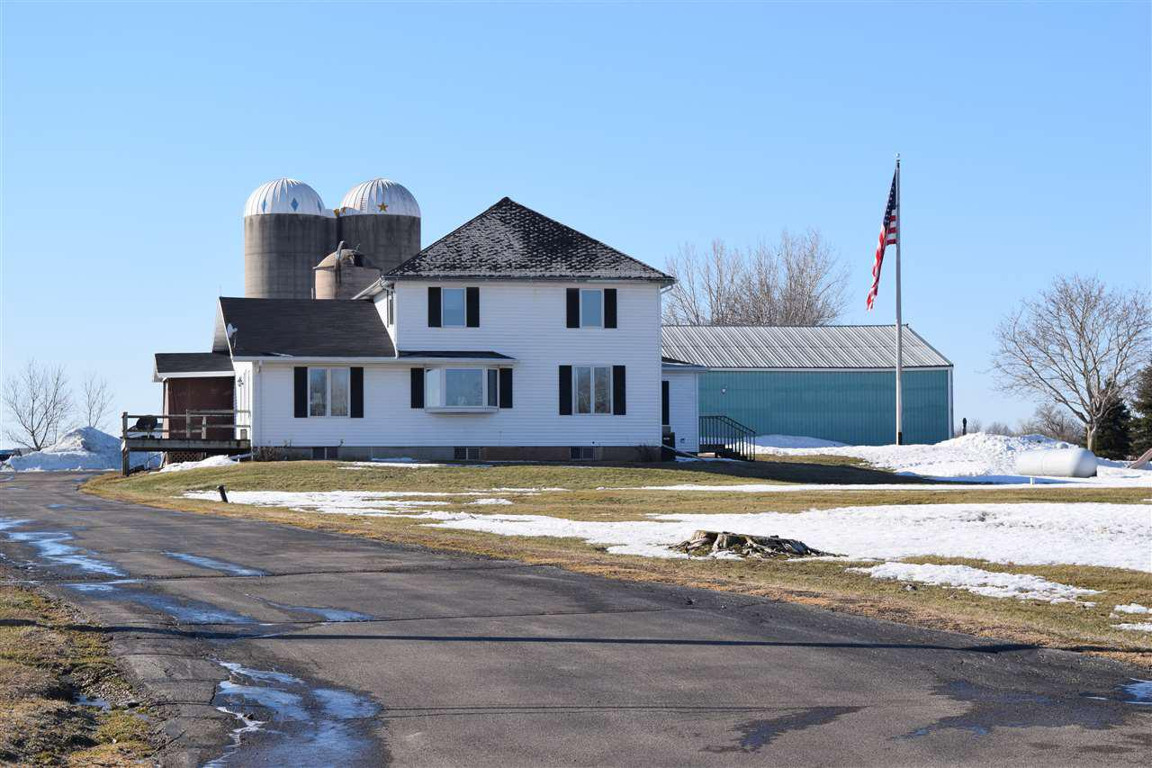 View Single-Family Home For Sale at W5941 KRUEGER ROAD, Black Creek, WI