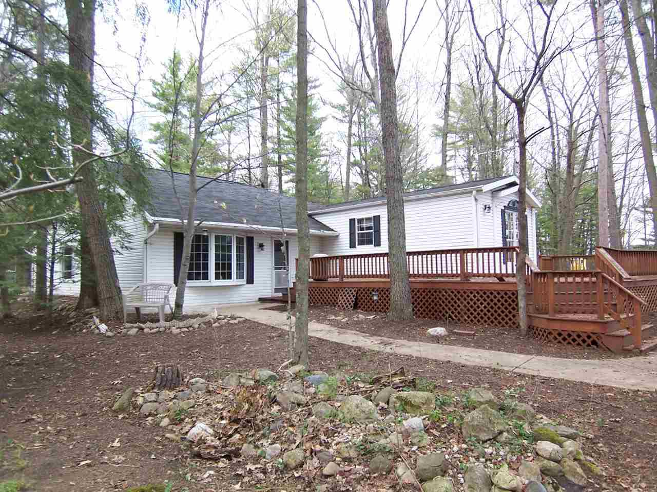 View Single-Family Home For Sale at 4945 MACHICKANEE LANE, Lena, WI