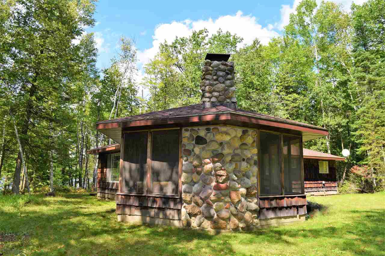 View Single-Family Home For Sale at N9441 LAKE ROAD, Middle Inlet, WI