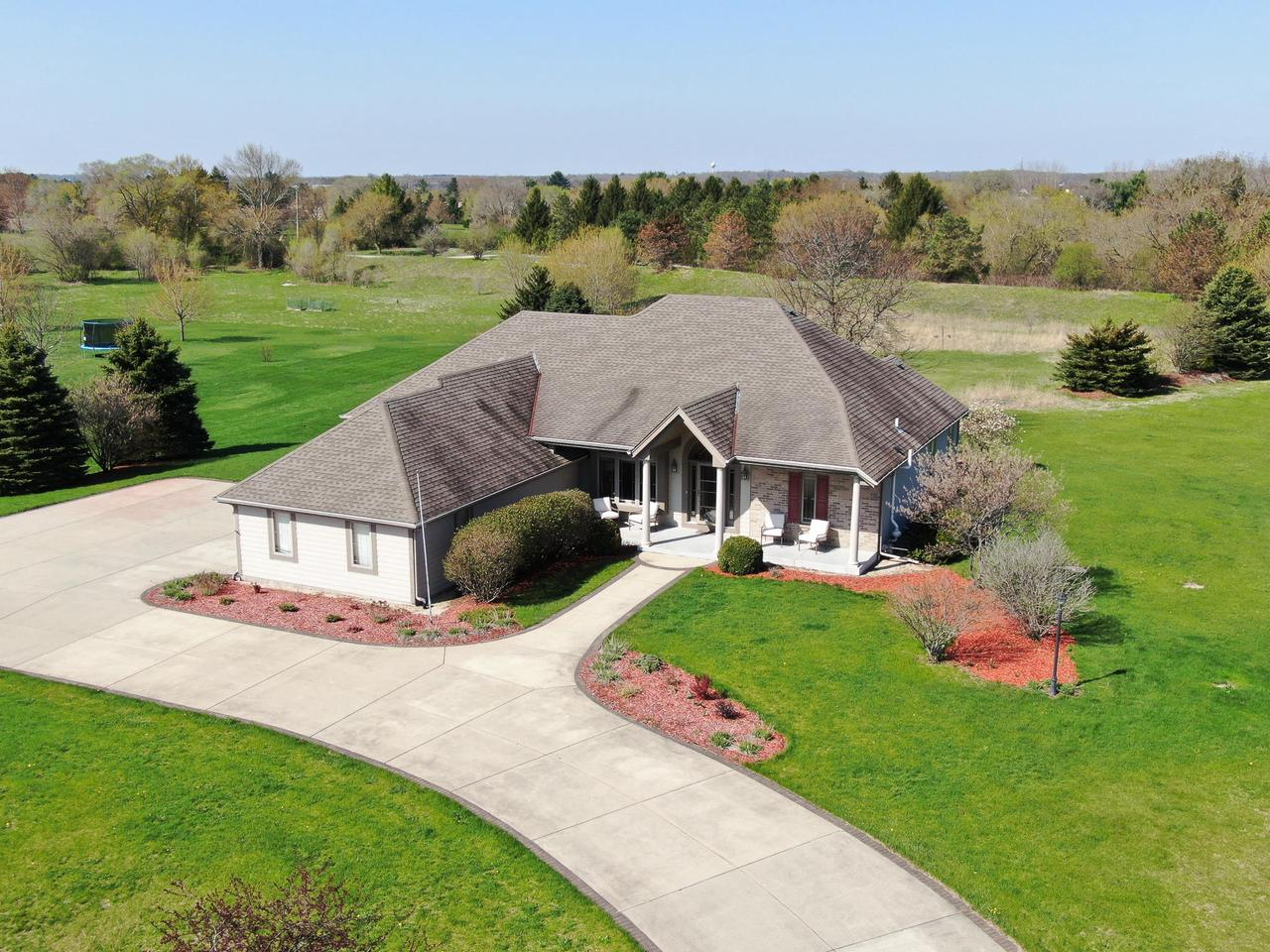 View Single-Family Home For Sale at W349S8153 N Whitetail Dr, Eagle, WI