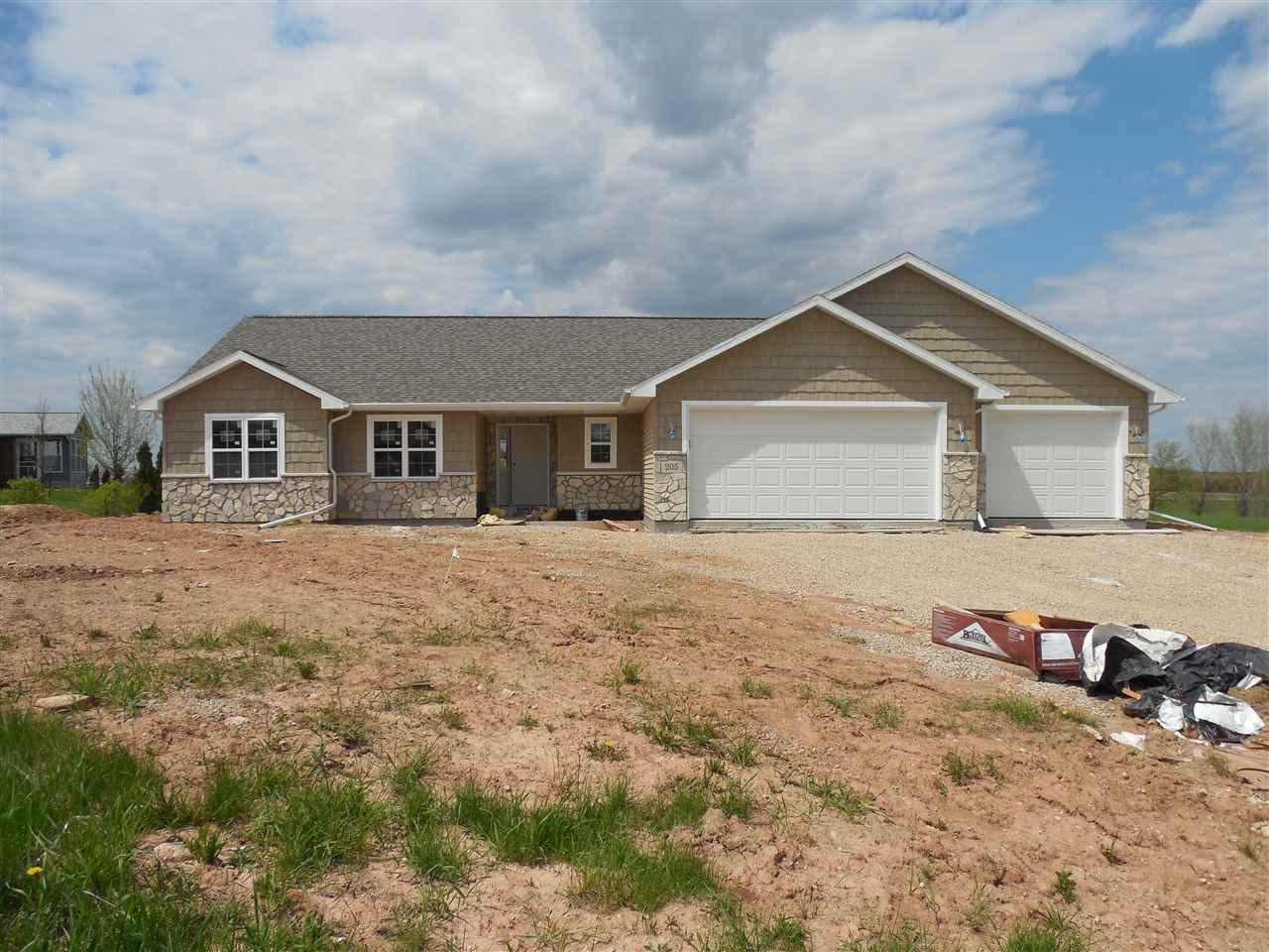 View Single-Family Home For Sale at 205 AUBREY COURT, New London, WI
