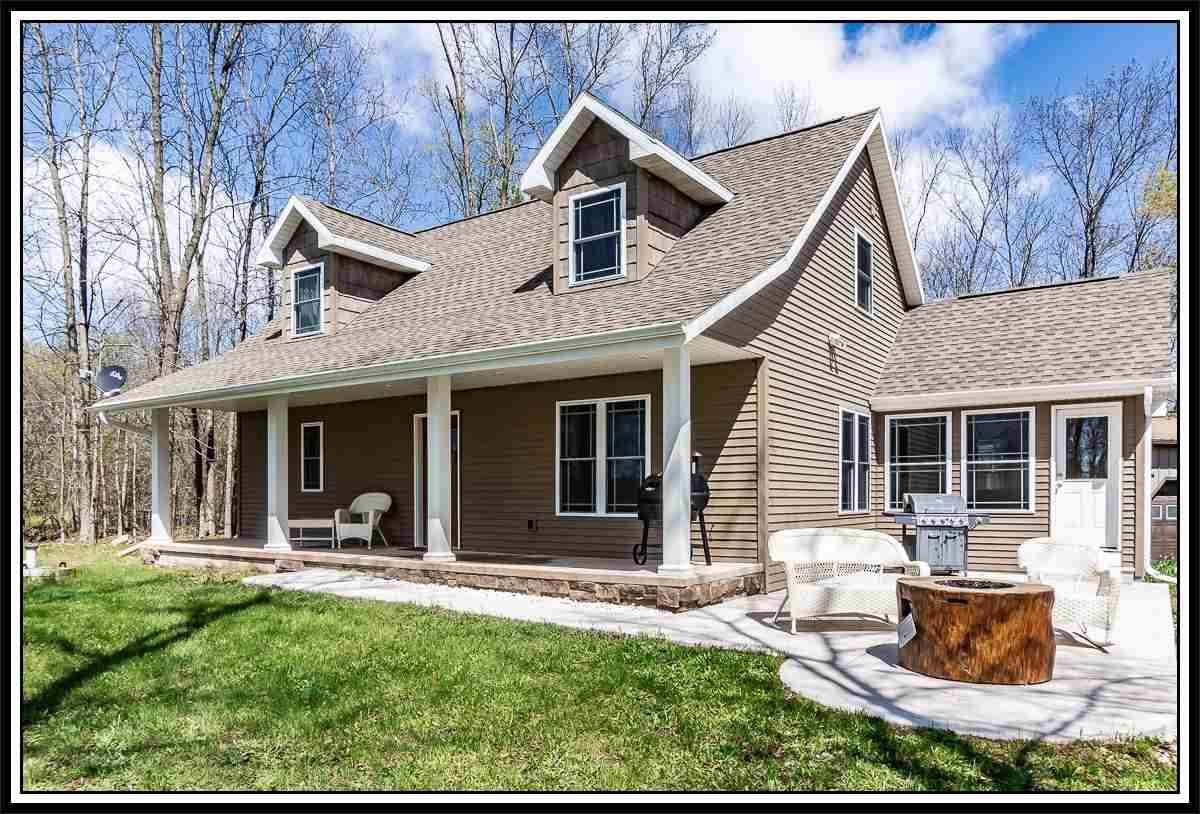 View Single-Family Home For Sale at W10490 RIVER ROAD, New London, WI