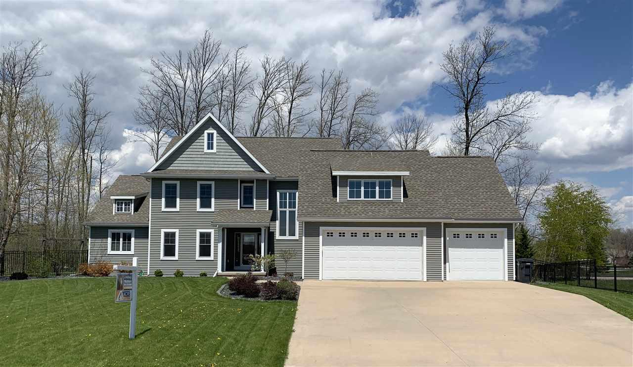 View Single-Family Home For Sale at W5984 SWEET PEA DRIVE, Appleton, WI