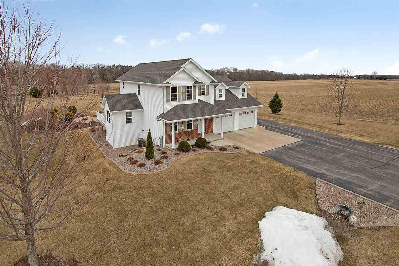 View Single-Family Home For Sale at 306 BIALOZYNSKI ROAD, Pulaski, WI