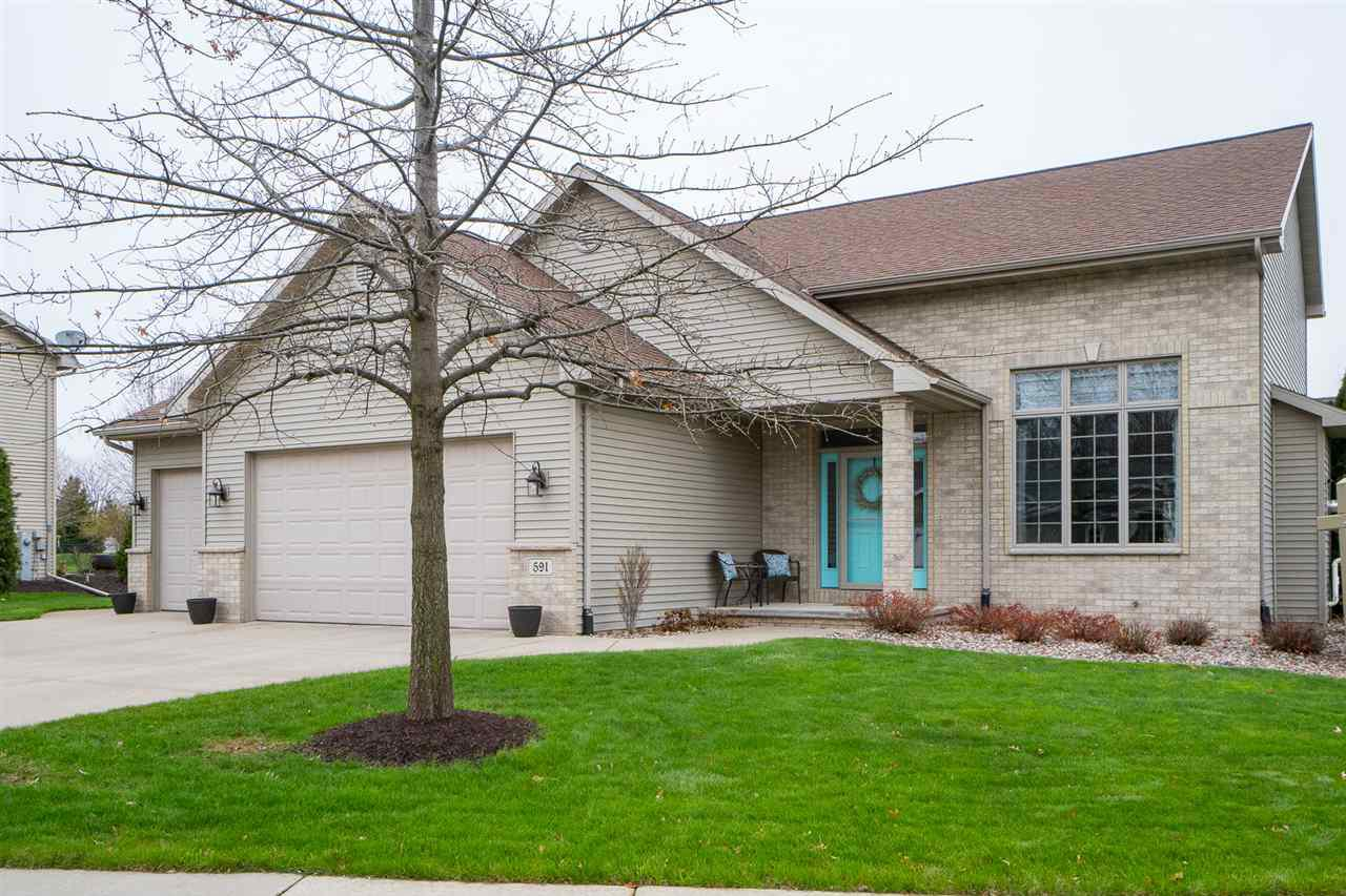 View Single-Family Home For Sale at 591 CORNROW LANE, Combined Locks, WI