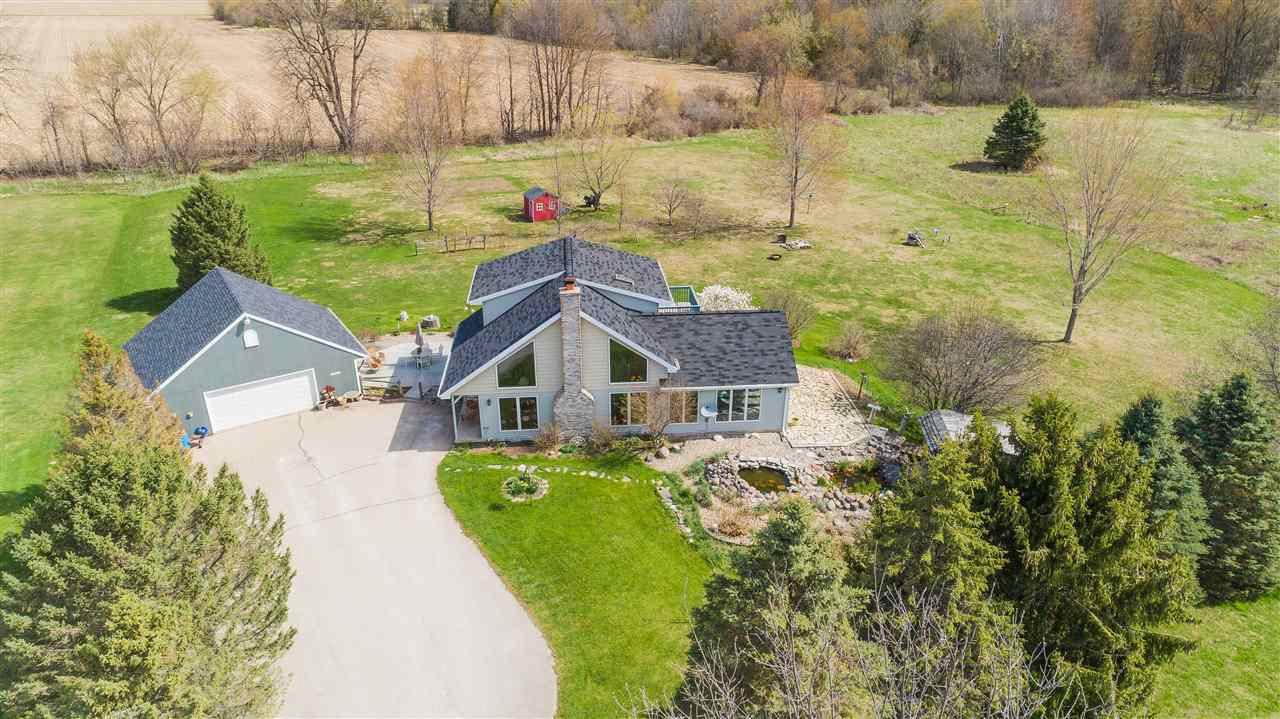 View Single-Family Home For Sale at N4696 HAMPLE ROAD, Black Creek, WI