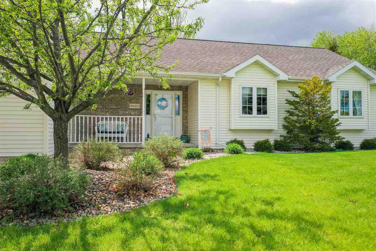 View Single-Family Home For Sale at W2407 GREENSPIRE WAY, Appleton, WI
