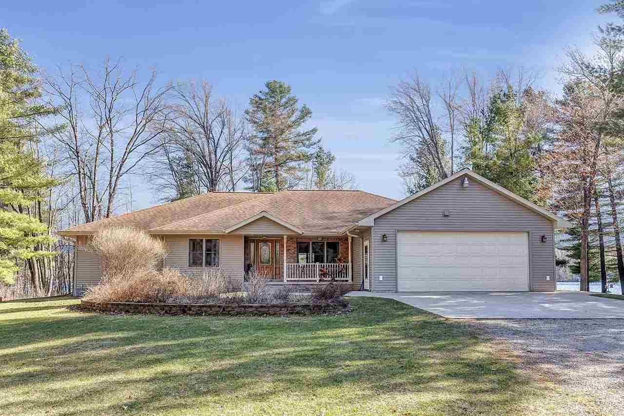 View Single-Family Home For Sale at 13996 W SHAY LAKE LANE, Pound, WI