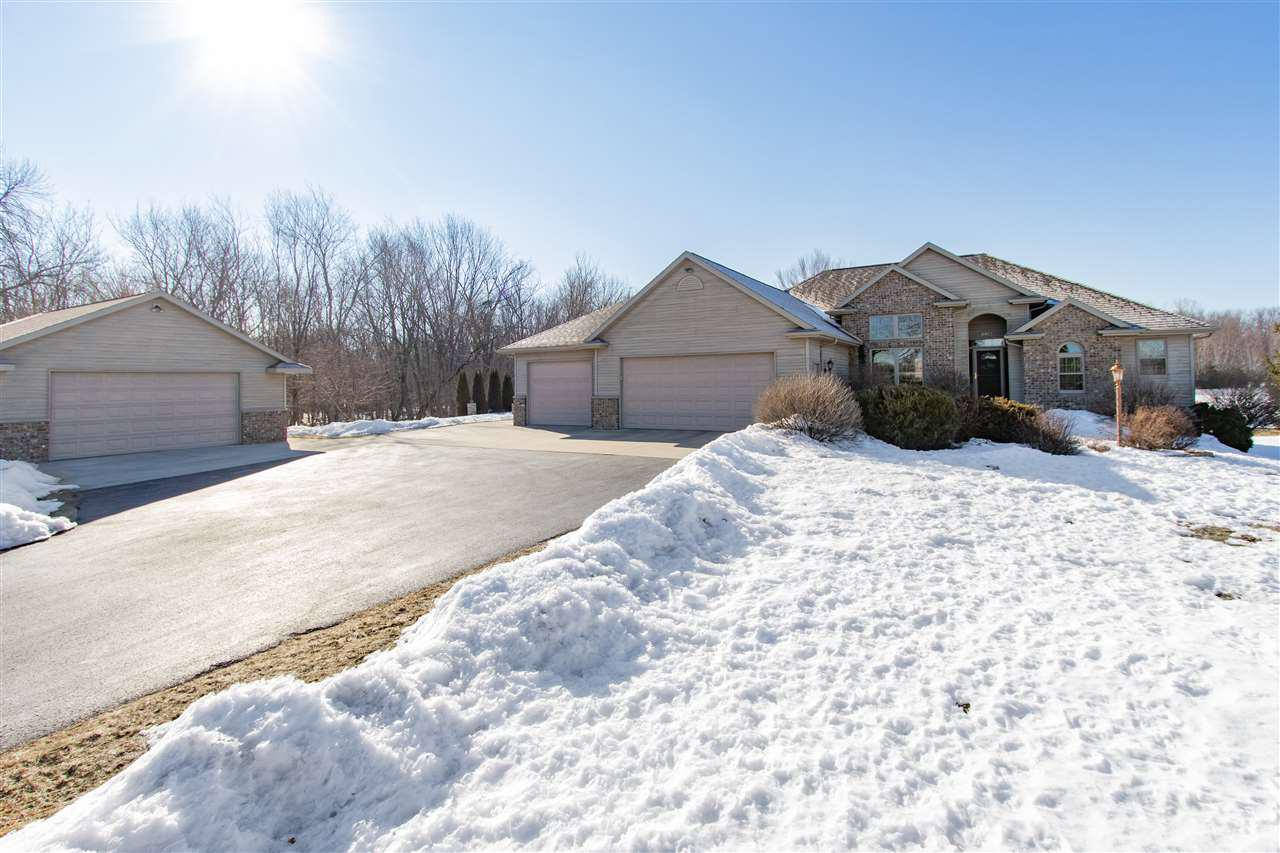 View Single-Family Home For Sale at W6983 CENTER VALLEY ROAD, Shiocton, WI