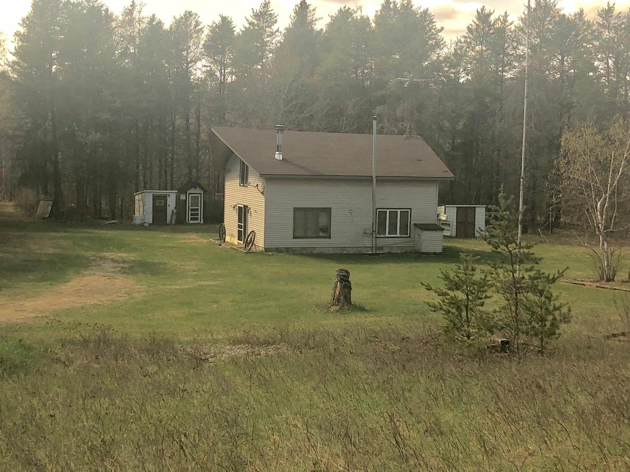 View Single-Family Home For Sale at W8519 Airport Rd, Crivitz, WI