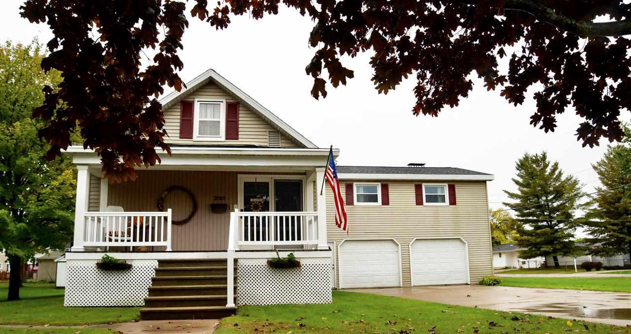 View Single-Family Home For Sale at 2017 16TH AVENUE, Menominee, MI