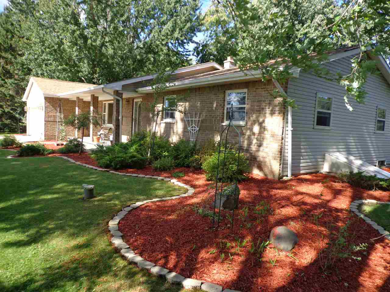View Single-Family Home For Sale at W9642 BONNIN ROAD, New London, WI