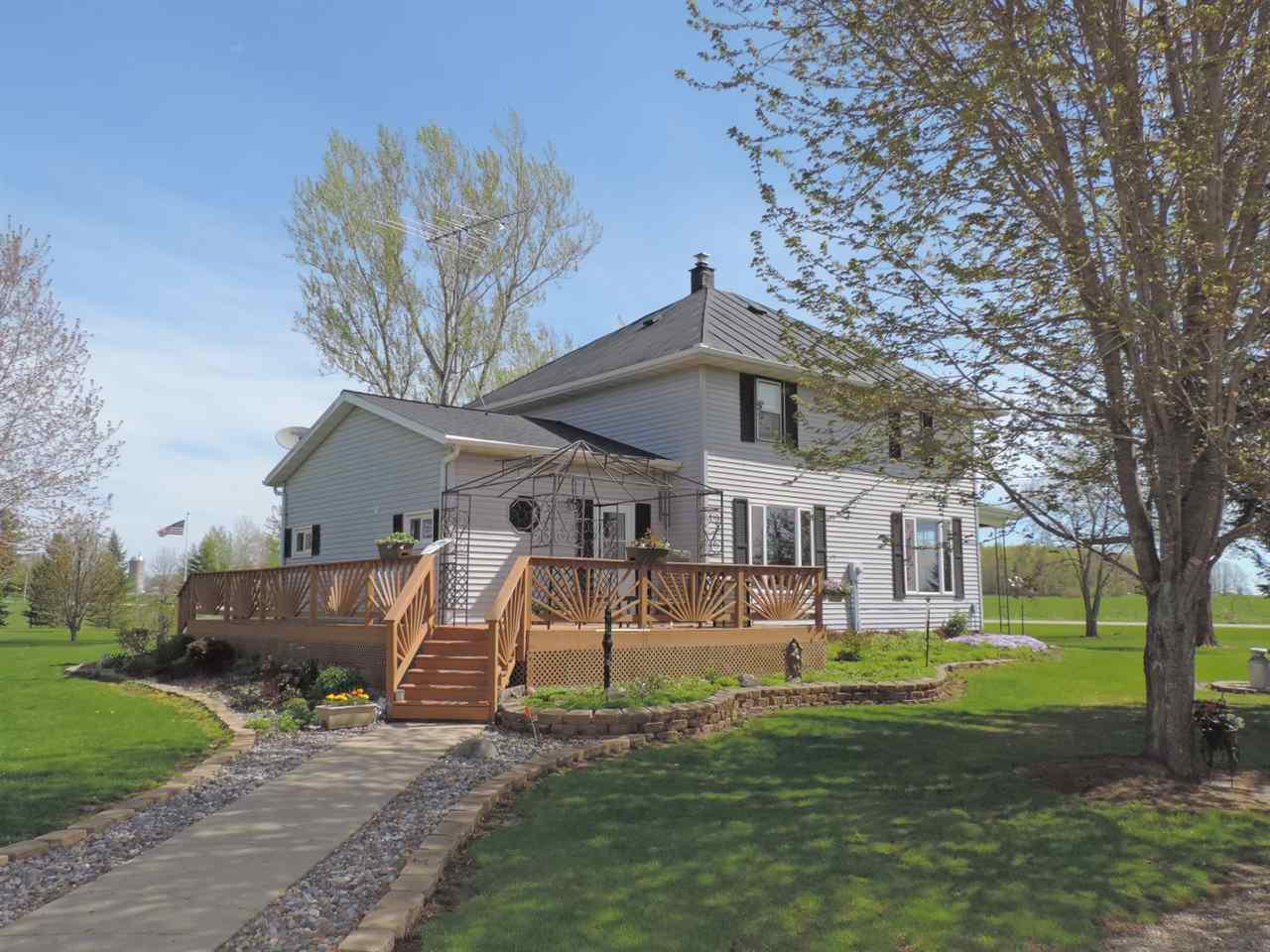 View Single-Family Home For Sale at 8151 HWY K, Oconto Falls, WI