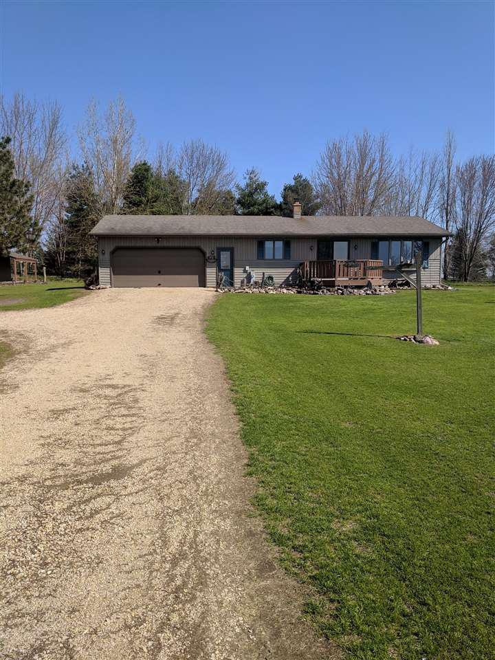View Single-Family Home For Sale at W10044 HINTZ ROAD, New London, WI