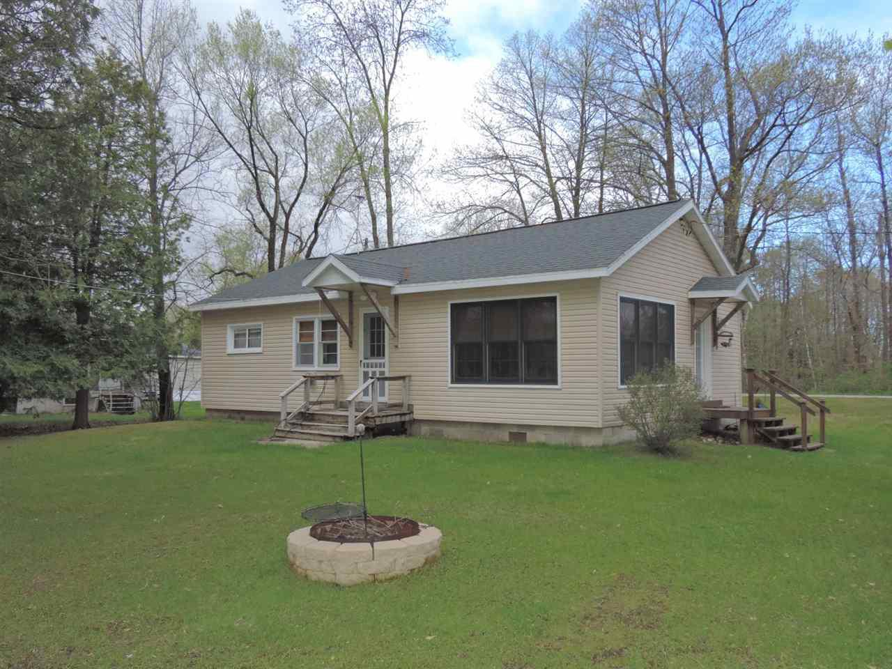 View Single-Family Home For Sale at 10878 WESCOTT LAKE ROAD, Pound, WI