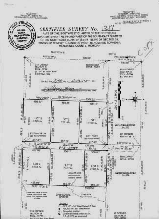 View Vacant Land For Sale at Lot 6 SOUTH P-2 DR, Abbotsford, MI