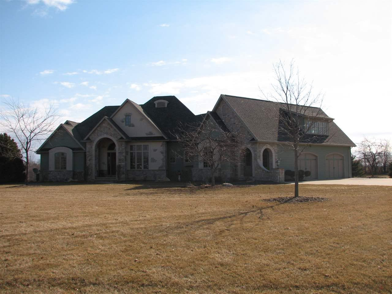 View Single-Family Home For Sale at W1258 APPLELAND WAY, Kaukauna, WI