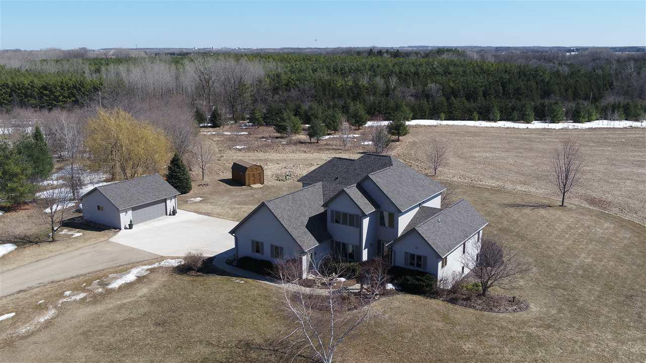 View Single-Family Home For Sale at W5857 ROCK ROAD, Black Creek, WI