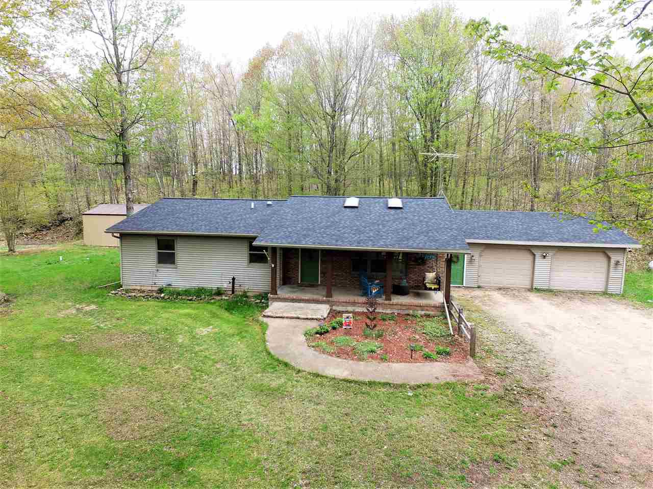 View Single-Family Home For Sale at 10878 HARRIS ROAD, Suring, WI